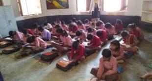 जौनपुर। ग्रेडिंग सर्वेक्षण परीक्षा में शामिल हुए छात्र