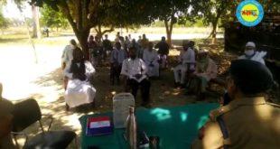 जौनपुर। मुस्लिम धर्मगुरूओं के साथ एसपीआरए ग्रामीण संजय राय ने बरसठी में किया बैठक