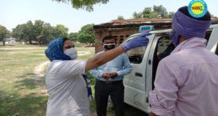 जौनपुर। सीएचसी रामनगर के डा. साक्षी राय ने गैर प्रान्तों से गांवों में आए प्रवासियों का किया थर्मल स्कैनिंग