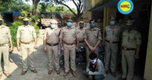 जौनपुर। पुलिस टीम ने छापेमारी कर लगभग 35 लाख के अवैध शराब सहित चार ट्रक और दो बाईक किया बरामद