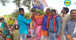 जौनपुर।अपना दल (एस) ने हरसिंहपुर गाँव में बूथ का किया गठन
