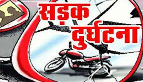 जौनपुर। सड़क हादसे में बाईक सवार युवक की मौत,खेतासराय थाना का मामला