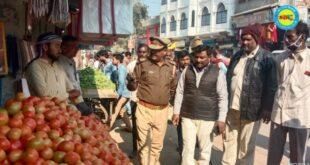 जौनपुर। शुक्रवार को मड़ियाहूँ नगर में चला अतिक्रमण अभिमयान, वेंडिंग जोन में रविवार से लगेगे ठेले