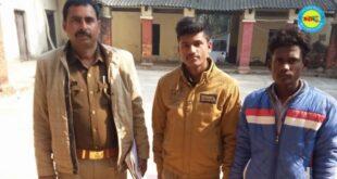 जौनपुर। तमंचा जिंदा कारतूस के साथ युवक को पुलिस ने किया  गिरफ्तार, भेजा जेल