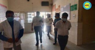 जौनपुर मड़ियाहूं सामुदायिक स्वास्थ्य केंद्र का मंगलवार को डीएम ने किया निरीक्षण