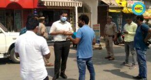 जौनपुर जिलाधिकारी ने मड़ियाहूं कस्बे का किया निरीक्षण अधिकारियों को दिया दिशा निर्देश