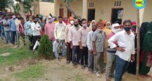 जौनपुर। जलालपुर की नहोरा में ग्राम प्रधान का उपचुनाव शनिवार को हो रहा है प्रशासन मौके पर बनी हुई है